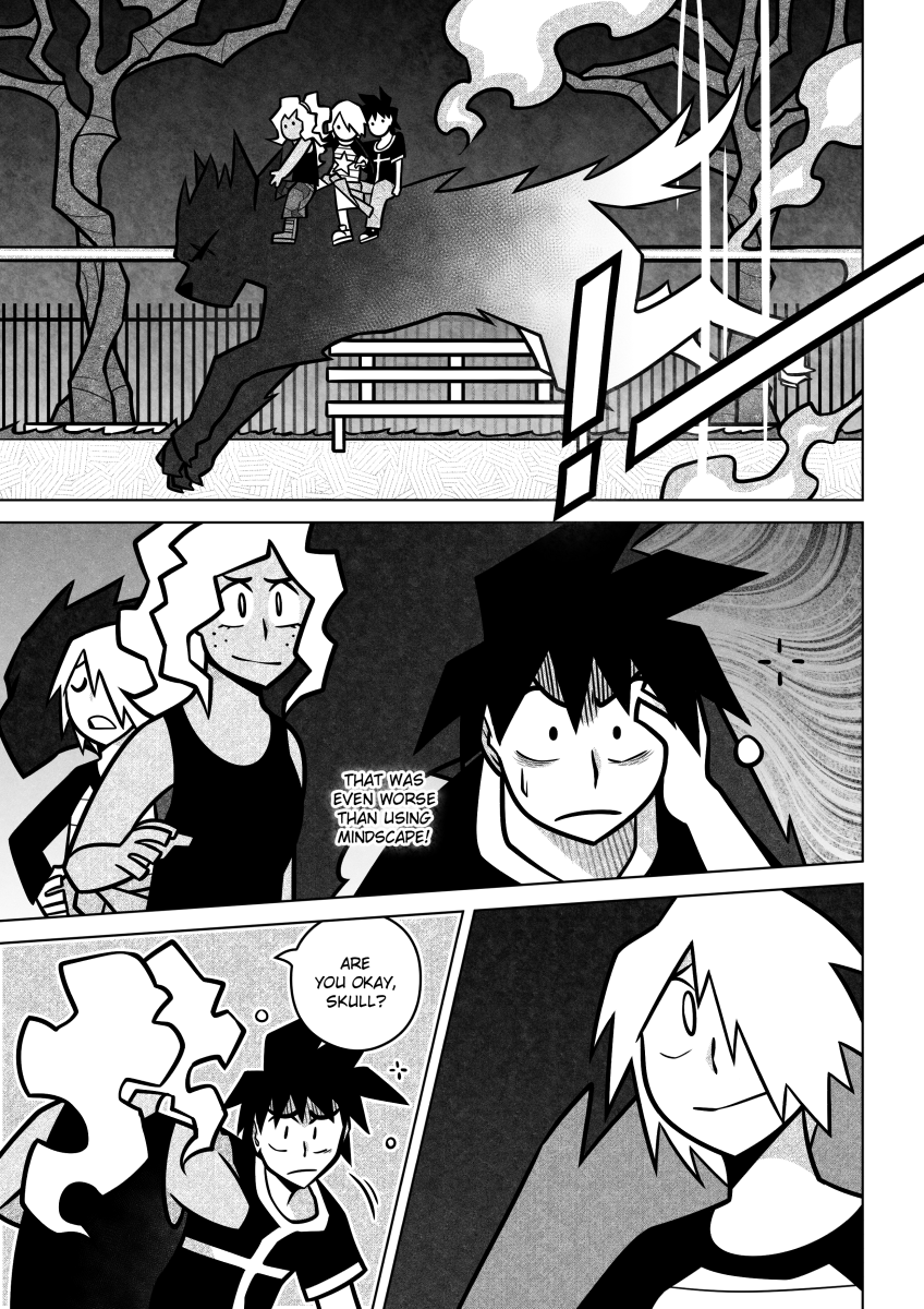 You could even say they actually GO TO HELL™ in this chapter heh heh
